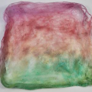 Hand Dyed Silk Hankies - Pixie
