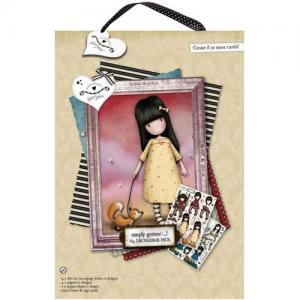 Simply Gorjuss A4 Decoupage Pack - The Pretend Friend [GOR169101]