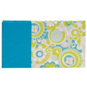Lineco Small Post Bound Album Kit - Turquoise Flowers [108-4]