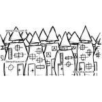Stampotique Originals - [10010] Village
