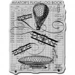 Stampendous Cling Rubber Stamps - Flying Machines [CRR139]