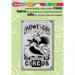 Stampendous Cling Rubber Stamps - Circus Poster [CRP181]