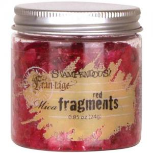 Stampendous Mica Fragments - Red