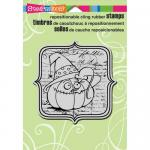 Stampendous Cling Rubber Stamps - Eek A Boo [CRW154]