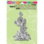 Stampendous Cling Rubber Stamps - Garden Hive [CRP280]