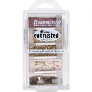 Stampendous Encrusted Jewel Kit - Pink