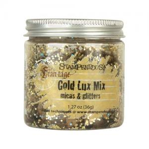 Stampendous Micas and Glitters Lux Mix - Gold