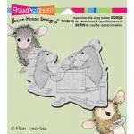 Stampendous House Mouse Cling Stamp - Vet Visit [HMCQ14]