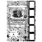 Tim Holtz Components Unmounted Rubber Stamps - Photograph [COM019]