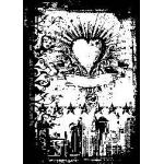 Tim Holtz Components Unmounted Rubber Stamps - Urban Tattoo [COM036]