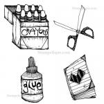 Stampotique Originals - [6145] Tools Cube