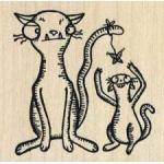 Stampotique Originals - [4022M] Kitten Sitting