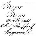 Stampotique Originals - [7422] Mirror Text