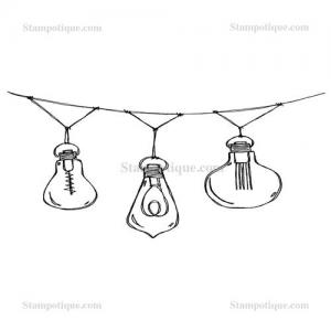 Stampotique Originals - [13018] Patio Lights