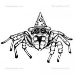 Stampotique Originals - [4054] Spiderwitch