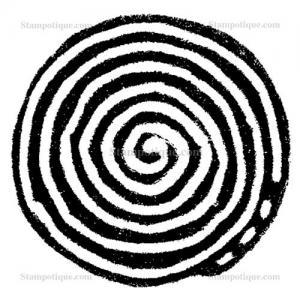 Stampotique Originals - [11026] Spiral