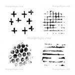 Stampotique Originals - [11025] Texture Cube I