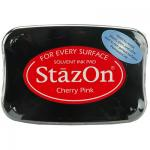 StazOn Ink Pad - Cherry Pink