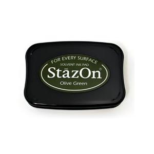StazOn Ink Pad - Olive Green