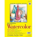 "Strathmore 300 Series Watercolor Paper - 9"" x 12"" 140# Cold Pressed Tape Bound Pad [360-109]"