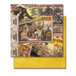 "Tim Holtz 9"" x 9"" Cardstock - [0741] Circus - ON SALE!"