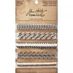 Idea-ology by Tim Holtz - [TH93105] Naturals Trimmings Black/Cream