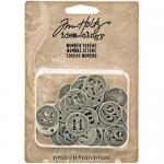 Idea-ology by Tim Holtz - [TH93244] Number Tokens
