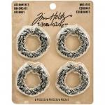 Idea-ology by Tim Holtz - [TH93248] Metal Adornments - Wreaths