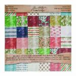 "Idea-ology by Tim Holtz - [TH93021] Holiday's Past 12"" x 12"" Paper Stash"