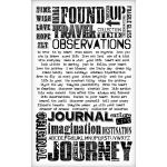 Idea-ology by Tim Holtz - [TH93055] Remnant Rubs (Words)