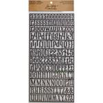 Idea-ology by Tim Holtz - [TH93069] Alpha Parts (Signmaker)