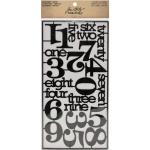 Idea-ology by Tim Holtz - [TH93074] Alpha Parts (Numeric)