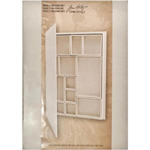"Tim Holtz Configurations - 9"" x 12"" Shadowbox Book [TH93078]"