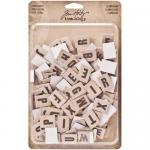 Idea-ology by Tim Holtz - [TH93116] Alpha Chips Elementary