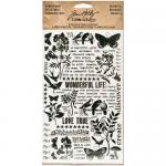 Idea-ology by Tim Holtz - [TH93119] Remnant Rubs - Botanical