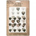 Idea-ology by Tim Holtz - [TH93132] Heart Charms