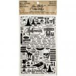 Idea-ology by Tim Holtz - [TH93227] Remnant Rubs - Halloween Curiosities