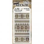 Tim Holtz Layering Stencil - Holiday Knit [THS28]