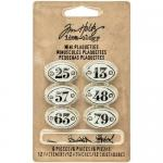 Idea-ology by Tim Holtz - [TH93296] Mini Plaquettes
