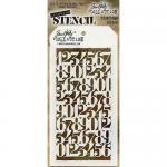 Tim Holtz Layering Stencil - Countdown [THS058]