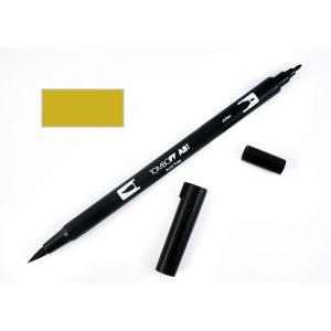 Tombow Dual Brush-Pen - Green Ochre [ABT-076]