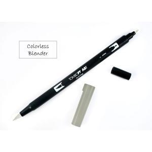 Tombow Dual Brush-Pen - Colorless Blender [ABT-N00]