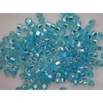 Miyuki Triangle Bead - 1803 Silver Lined Aqua