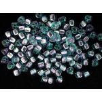 Miyuki Triangle Bead - 3275 Silver Lined Aqua Sapphire