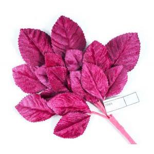 Velvet Leaves [07] Fuchsia