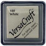 "Tsukineko VersaCraft Small 1"" Ink Pad - White"