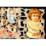 Victorian Scrap Pictures [7072] - Angels - ON SALE!
