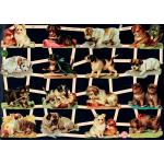 Victorian Scrap Pictures [7327] - Dogs - ON SALE!