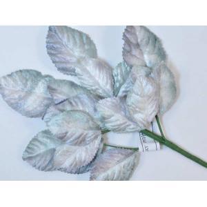 Velvet Leaves [22] Grey/Mint