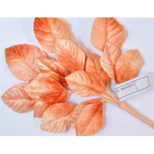 Velvet Leaves [24] Orange Shaded